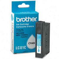 Brother LC-01C (Brother LC01C) Cyan Inkjet Cartridge