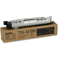 Brother TN-12BK Black Laser Toner Cartridge (Brother TN12BK)