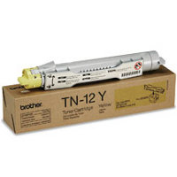 Brother TN-12Y Yellow Laser Toner Cartridge (Brother TN12Y)