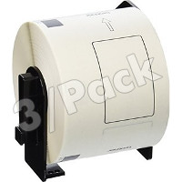 Brother DK1202 Compatible Die-cut White Paper Shipping Labels