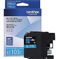 Brother LC-103C OEM originales Cartucho de tinta