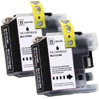 Brother LC1072PKS Compatible InkJet Cartridge Dual Pack