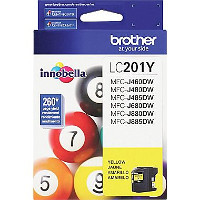 Brother 201Y Inkjet Cartridge