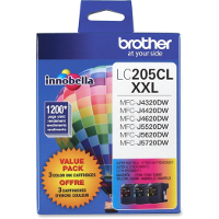 Brother LC2053PKS InkJet Cartridges Value Pack
