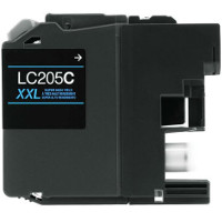 Brother LC205C Compatible InkJet Cartridge