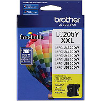 Brother LC205Y InkJet Cartridge