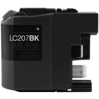 Brother LC207BK Compatible InkJet Cartridge