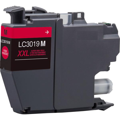 Compatible Brother LC-3019M (LC3019M) Magenta Inkjet Cartridge