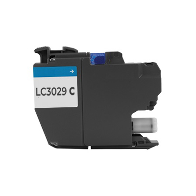 Compatible Brother LC-3029C (LC3029C) Cyan Inkjet Cartridge