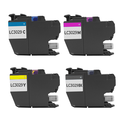 Compatible Brother LC-3029BK / LC-3029C / LC-3029M / LC-3029Y Inkjet Cartridge MultiPack