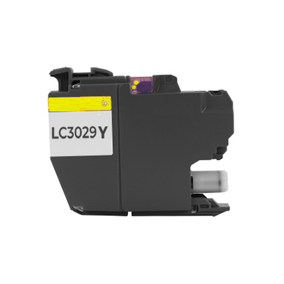 Compatible Brother LC-3029Y (LC3029Y) Yellow Inkjet Cartridge