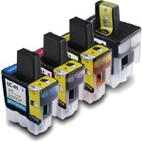 Brother LC41BK / LC41C / LC41M / LC41Y Compatible InkJet Cartridges MultiPack