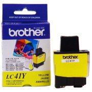 Brother LC-41Y OEM originales Cartucho de tinta