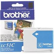Brother LC51C (Brother LC-51C) InkJet Cartridge