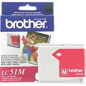Brother LC51M (Brother LC-51M) InkJet Cartridge