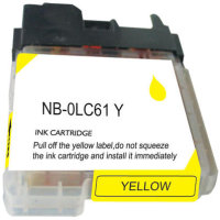 Brother LC61Y Compatible InkJet Cartridge