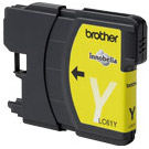 Brother LC61Y InkJet Cartridge