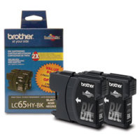 Brother LC652PKS InkJet Cartridges (2/Pack)
