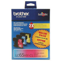 Brother LC653PKS InkJet Cartridges (3/Pack)