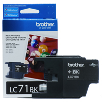 Brother LC71BK (Brother LC-71BK) InkJet Cartridge
