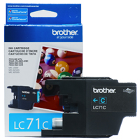 Brother LC71C (Brother LC-71C) InkJet Cartridge