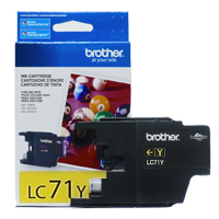 Brother LC71Y (Brother LC-71Y) InkJet Cartridge