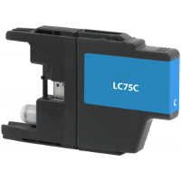 Brother LC75C Replacement InkJet Cartridge