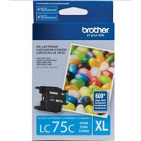 Brother LC75C (Brother LC-75C) InkJet Cartridge