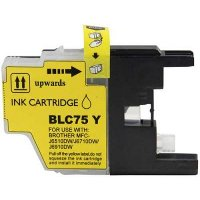 Brother LC75Y Compatible InkJet Cartridge