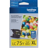 Brother LC75Y (Brother LC-75Y) InkJet Cartridge