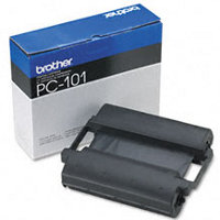 OEM Brother PC-101 (PC101) Black Thermal Transfer Ribbon