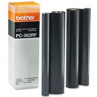 Brother PC-302RF (PC302RF) Black Thermal Transfer Ribbon Refills (2/pack)