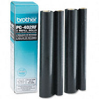 Brother PC-402RF (PC402RF) Black Thermal Transfer Ribbons Refills (2/pack)