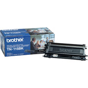 Brother TN-115BK (Brother TN115BK) Laser Toner Cartridge