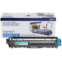 Brother TN-221C (Brother TN221C) Laser Toner Cartridge