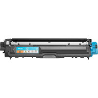 Compatible Brother TN-225C (TN225C) Cyan Laser Toner Cartridge (Made in North America; TAA Compliant)