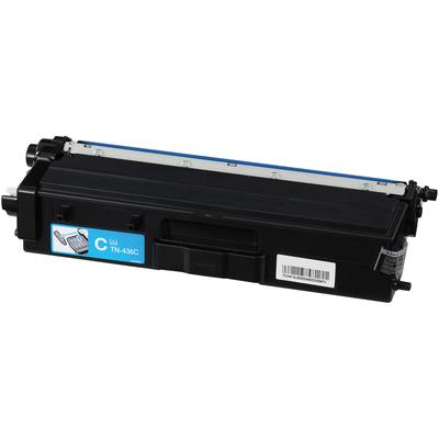 Compatible Brother TN-436C (TN436C) Cyan Laser Toner Cartridge