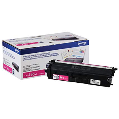 OEM Brother TN-436M (TN436M) Magenta Laser Toner Cartridge