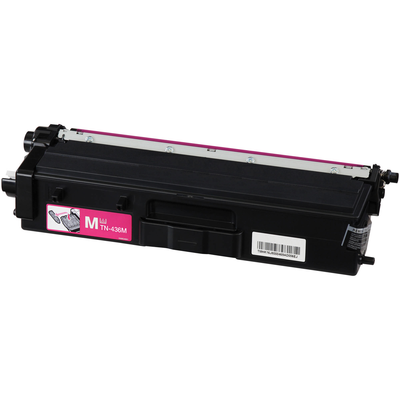 Compatible Brother TN-436M (TN436M) Magenta Laser Toner Cartridge