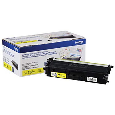 OEM Brother TN-436Y (TN436Y) Yellow Laser Toner Cartridge
