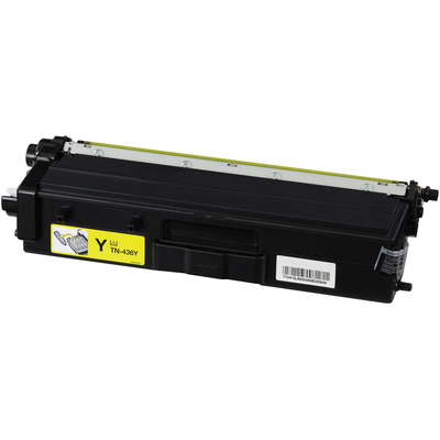 Compatible Brother TN-436Y (TN436Y) Yellow Laser Toner Cartridge