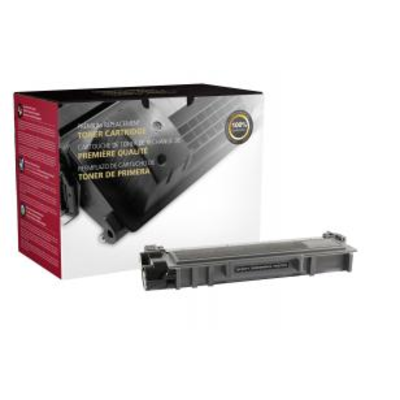 Compatible Brother TN-660 (TN660) Black Laser Toner Cartridge (Made in North America; TAA Compliant)