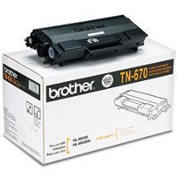 Brother TN-670 Black High Capacity Laser Toner Cartridge (Brother TN670)