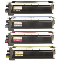 Brother TN210BK / TN210C / TN210M / TN210Y Compatible Laser Toner Cartridge MultiPack