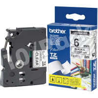 Brother TZ111 (Brother TZ-111) P-Touch Tapes (10/Pack)