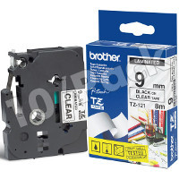 Brother TZ121 (Brother TZ-121) P-Touch Tapes (10/Pack)