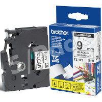 Brother TZ121 (Brother TZ-121) P-Touch Tapes (5/Pack)