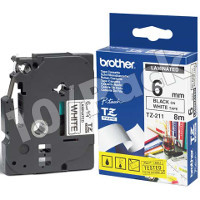 Brother TZ211 (Brother TZ-211) P-Touch Tapes (10/Pack)