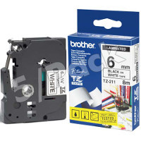 Brother TZ211 (Brother TZ-211) P-Touch Tapes (5/Pack)