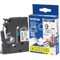 Brother TZ221 (Brother TZ-221) P-Touch Tapes (5/Pack)